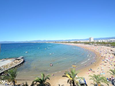 Photo for California Salou:Air conditioned apartment-2bedrooms-Free wifi & linen-Near beach and Salou's centre