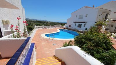Photo for Amazing sea views, short walk to beach