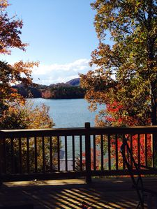 Photo for Waterfront, Mountain View Lake House with stunning views of the lake!!