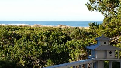 Beach View from the Deck