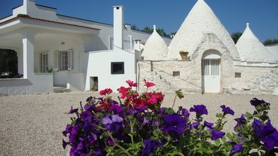 Photo for Beautiful Air-conditioned Trulli Villa w/ POOL - Tranquil And Serene