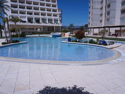 Photo for IN CALPE LUXURY, RELAX, FUN, 1 MINUTE BEACH AND RESTAURANTS. WIFI. A. ACONDIC.