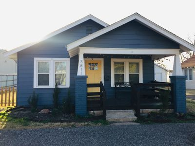 Photo for Beautifully remodeled Bungalow steps away from Historic Route 66 and SNU