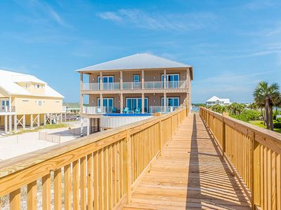 Photo for Stunning Beach Front Home w/ Private Pool Overlooking Gulf!