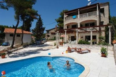 Photo for Apartments Vjera, (3033), Sumartin, island of Brac, Croatia