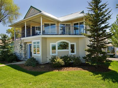 Photo for Lakefront 3-BR Home Two Miles from Cedar Point and Sports Force