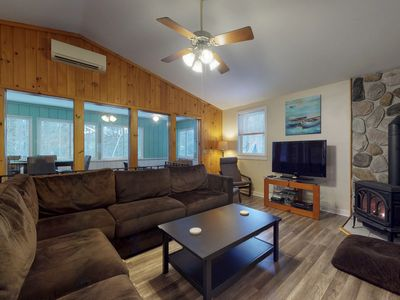 Photo for Family-friendly home w/ firepit, across the street from the beach!