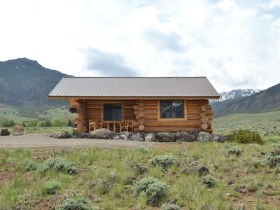 Photo for Quaint Log Cabin On The Road To Yellowstone