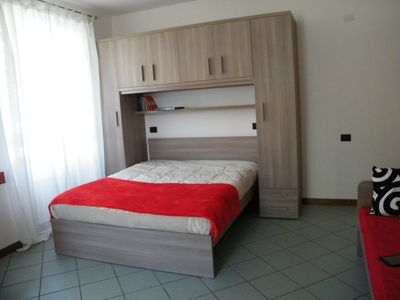 Photo for MONO FUOCO 4 BEDS, BUS A FEW STEPS, FREE WIFI WITH A / C-ATF RESIDENCE