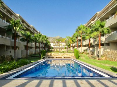 Photo for Spacious Modern Apartment in Green Paradise with Swimming Pools - Pego