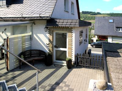 Photo for Apartment in the Hochsauerland region with a private entrance and terrace.