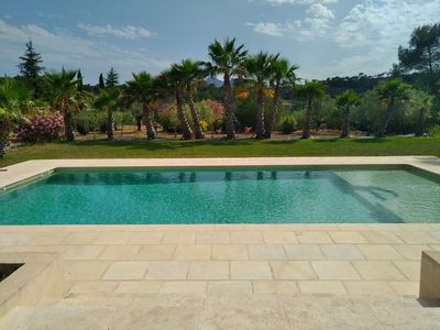 Photo for 3 rooms in Villa with pool