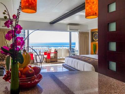 Photo for Posh*&*Lavish = 2 Adjoining Suites =  Direct Ocean View = Beach Front