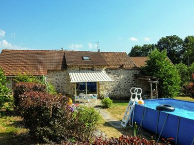Photo for Cosy holiday home with private swimming pool in the centre of France