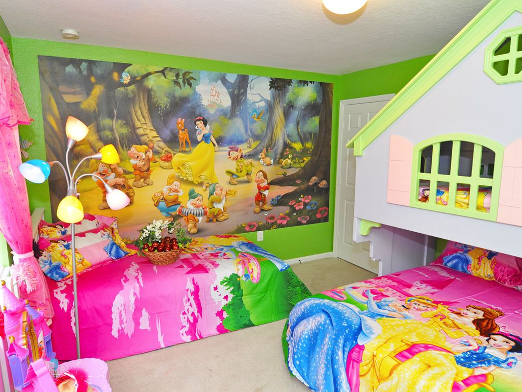 Kids Theme Room And Private Pool Close Homeaway Kissimmee