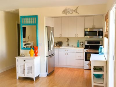 Open Kitchen with brand new LG Stainless Steel Appliances