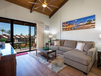 Photo for NEWLY REMODELED-2 BEDROOM-KAMAOLE SANDS-BUILDING #3-BEAUTIFUL OCEAN VIEWS-AC