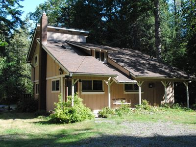 Photo for Salmon River Cabin - Private, Hot Tub, Huge Deck/Yard, Outdoor Shower, Fire Pit