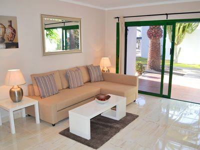 Photo for Modern 2 Bed/2 Bath  Apartment With Communal Pool, Air-con, Wi-Fi And English TV