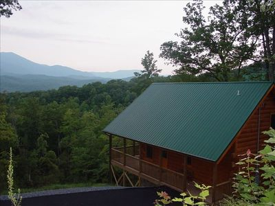 Private,  Unobstructed Mtn Views of Mt LeConte, 5 mins into Down Town