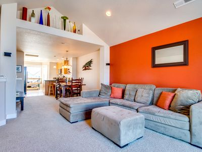 Photo for Dog-friendly townhouse w/ ocean views & nearby beach access
