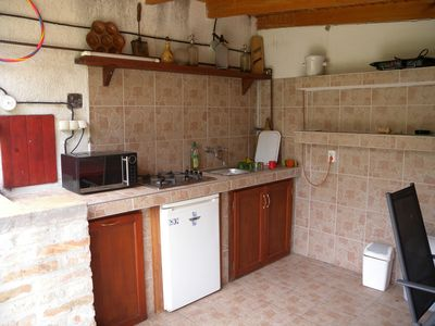 Holiday house / Wooden house only 200 meters from the beach