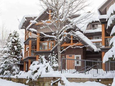 Photo for Beautiful Whistler Townhouse - Whistler Village - Fully Renovated w/ Heated Pool