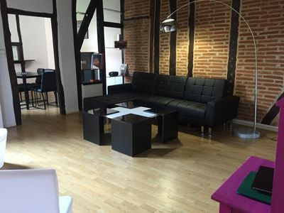 Photo for hire 4-6 people in the heart of the Episcopal city of Albi