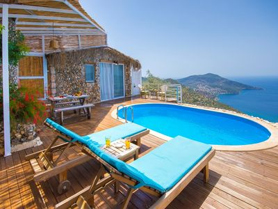 Photo for Secluded Honeymoon Villa with Spectacular Sea View