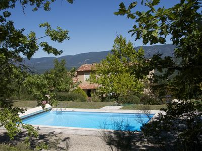 Photo for Provencal Bastide, exceptional views pisine