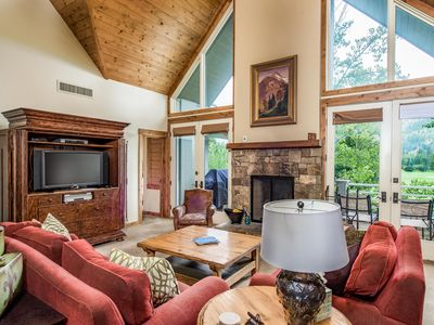Photo for Outpost: Top Floor Teton Pines Condo!