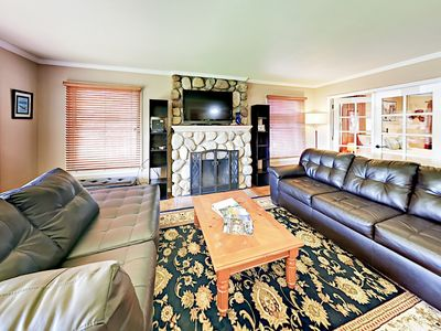 Living Room - This classic 1950s bungalow is professionally managed by TurnKey Vacation Rentals.