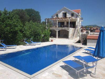 Photo for LUXURY VILLA WITH PRIVATE POOL ON BEAUTIFUL AND ACCESSIBLE LUSTICA PENINSULA