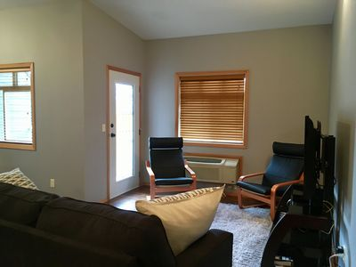 Photo for Greenview Retreat: Walking Distance to Downtown, Balcony, Huge Ski Locker & Private Parking