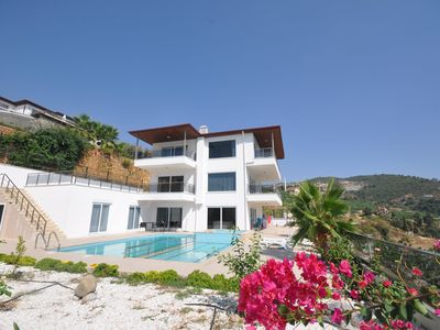 Photo for New Duplex villa with 6 bedrooms and two living rooms plus children's pool