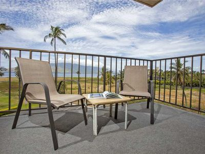 Photo for Ocean views from this one bedroom at Kauhale Makai, sleeps 4. #410