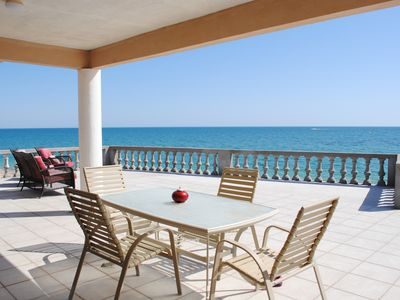 Photo for Newly Remodeled 4 bedroom beach front home
