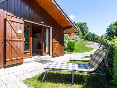 Photo for Remote chalet in La Bresse with Terrace