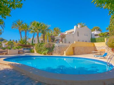Photo for One bedroom Villa, sleeps 4 in La Fustera with Pool, Air Con and WiFi
