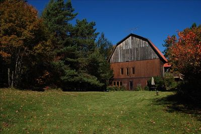 View of the Barn