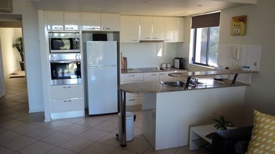 Kitchen includes microwave, dishwasher, coffee machine and all utensils