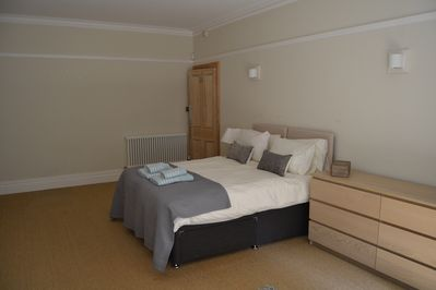 Large main bedroom. Can be double or 2 singles.