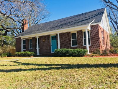 Enjoy the yard and hot tub centrally located 5 blocks from Main Street.