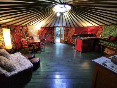 Photo for Love yurt with steam room