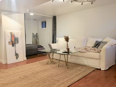 Photo for Downtown, Queen West, Trinity Bellwoods, Private Basement Apartment,