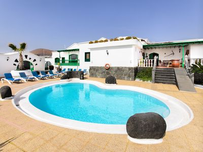 Photo for Large Villa with Pool, Garden, Patio, Gorgeous Views & Wi-Fi - (not a private villa)