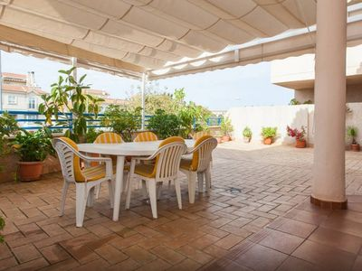 Photo for [679] Apartment with spacious terrace, near the center and the beach