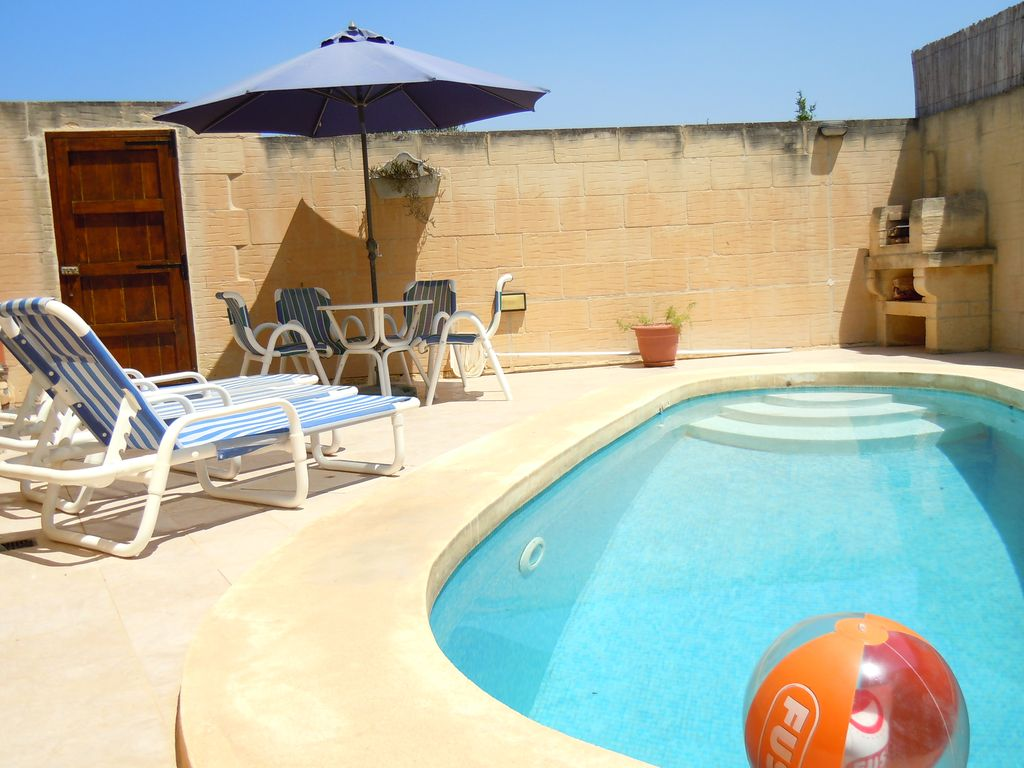 Holiday House With A Private Swimming Pool Free Wifi Qala Island Of Gozo