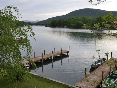 Photo for Great Waterfront, Sunsets, and Mountain Views on Beautiful Lake George