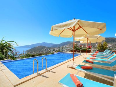 Photo for Kalkan Villa, Sleeps 10 with Pool, Air Con and WiFi